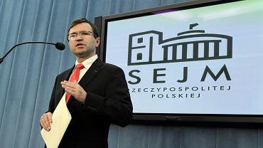 Poseł Zbigniew Giżyński, 2014.