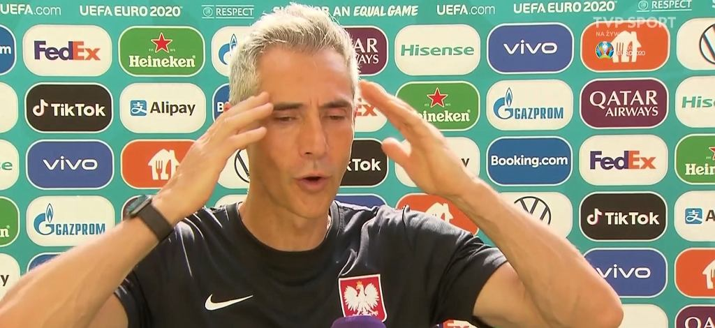 Zdenerwowany Paulo Sousa