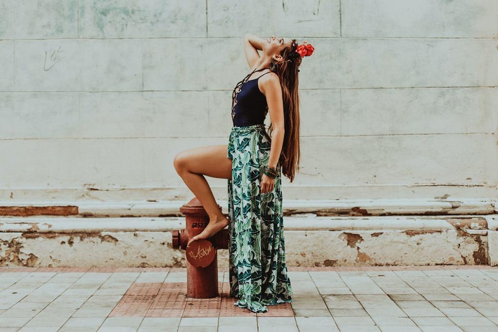 spódnica na lato