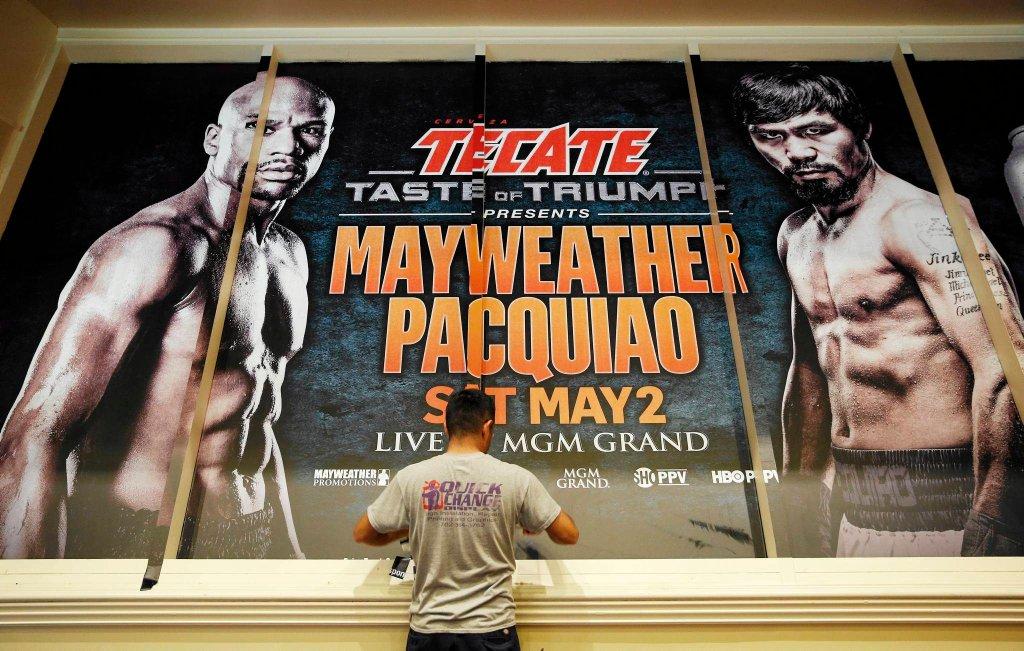 Przed walką Floyd Mayweather Jr. - Manny Pacquiao