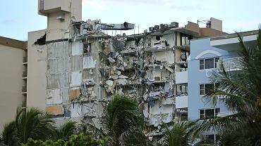 Zawalony 12-piętrowy budynek w Miami