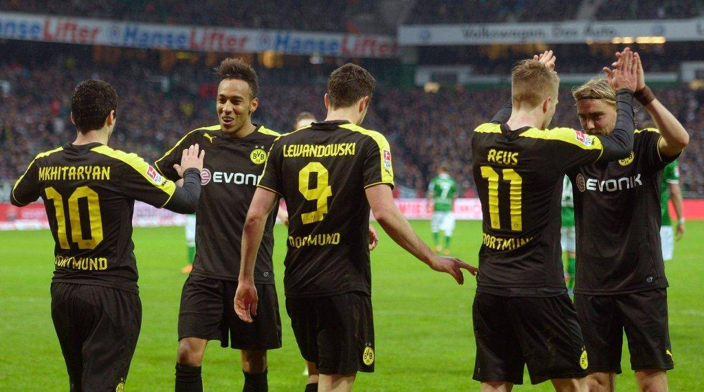 Werder - Borussia