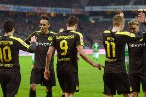 Bundesliga. Aubameyang goni Lewandowskiego w klasyfikacji strzelców