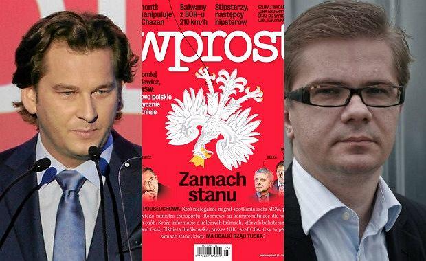 Prezes Platformy Mediowej Point Group, Michał M. Lisiecki i redaktor naczelny