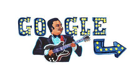 Google Doodle świętuje dziś 94. rocznicę urodzin B.B. Kinga