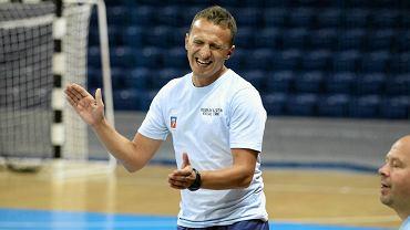 Łukasz Żebrowski jest trenerem Pogoni 04 Szczecin