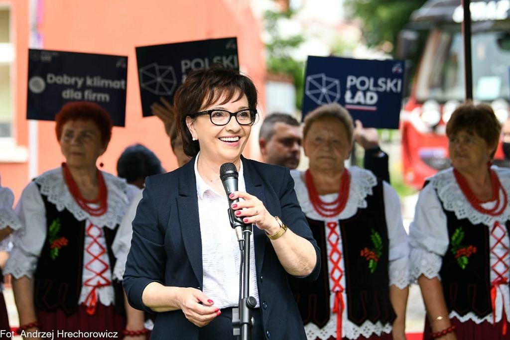 Elżbieta Witek w Otyniu