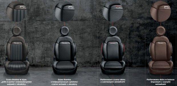 Fiat 500X tapicerki