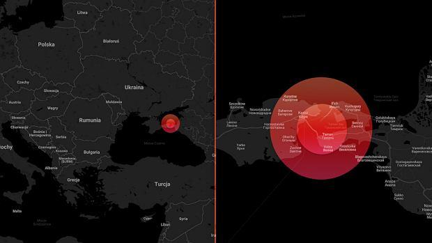 Konflikt w Cieśninie Kerczeńskiej między Rosją a Ukrainą