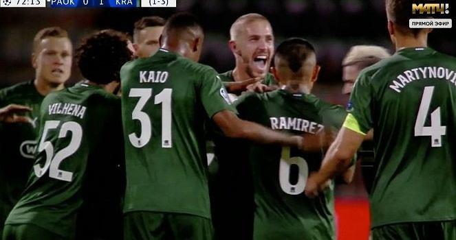 FK Krasnodar awansowało do Ligi Mistrzów