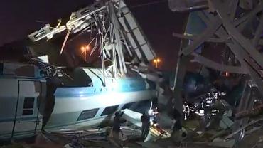 Katastrofa kolejowa pociągu w Ankarze. Są przynajmniej 4 ofiary śmiertelne