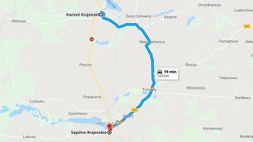 Wypadek w Płociczu. Droga krajowa 25 zablokowana