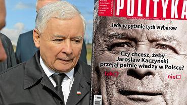 """Okładka """"Polityki"""""""
