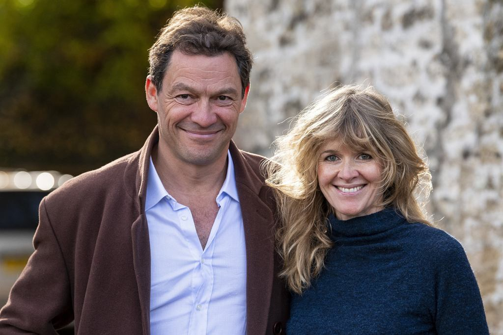 Dominic West z żoną