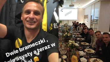 Sławomir Peszko świętuje z drużyną