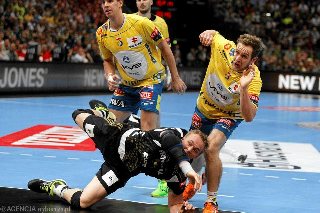 Kolonia, Niemcy. Final Four Velux EHF Ligi Mistrzów. Vive Tauron Kielce - THW Kiel (28:26)