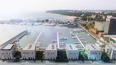 Yacht Park, wizualizacja inwestycji
