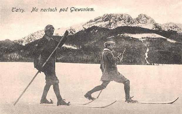 Tatry. Na nartach pod Giewontem