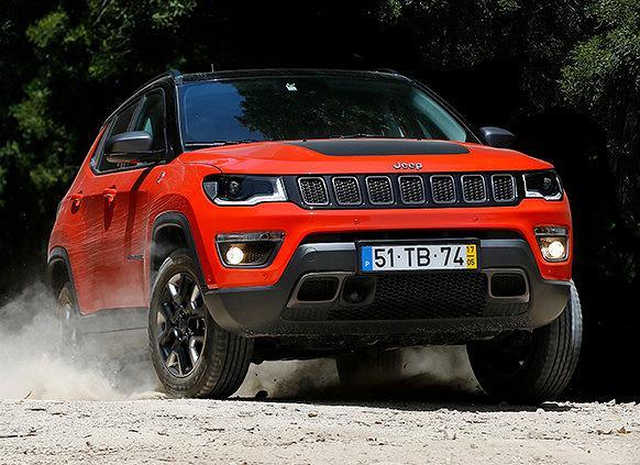 Jeep Compass to jedno z najlepiej wyglądających aut w swoim segmencie. Fot. Materiały Partnera