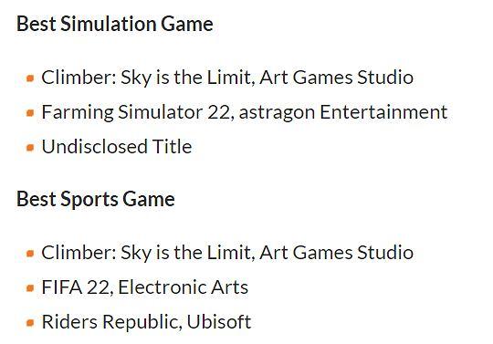 Climber: Sky is The Limit z dwoma nominacjami na targach Gamescom