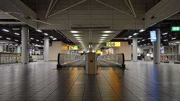 Lotnisko Schiphol / zdjęcie ilustracyjne