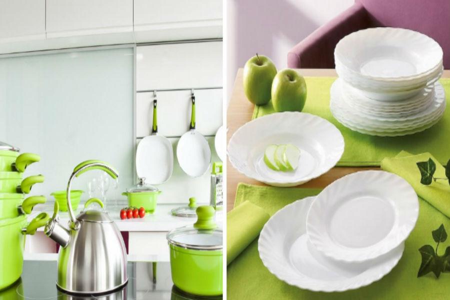 Greenery w kuchni!