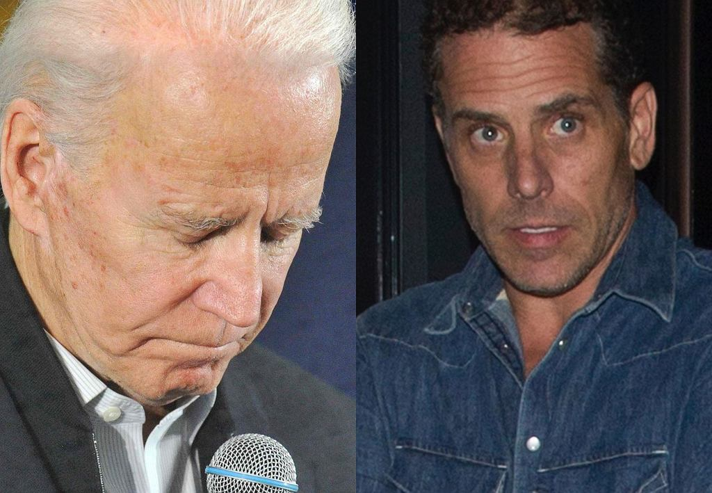 Joe i Hunter Biden