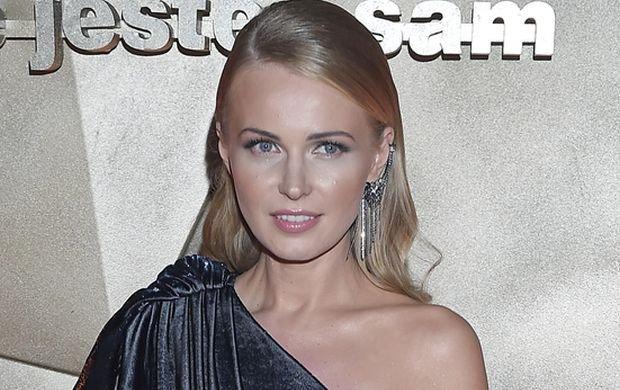 Agnieszka Cegielska na Balu TVN