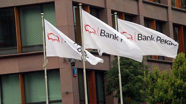 Centrala banku Pekao w Warszawie