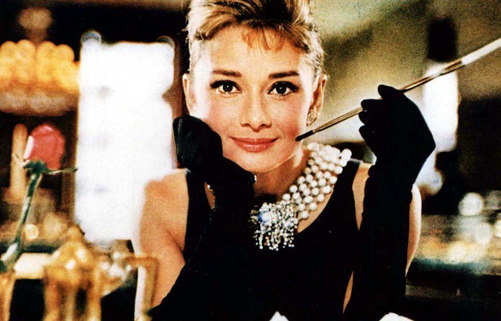 Audrey Hepburn na