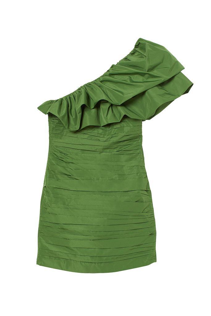 Drapowana sukienka H&M Conscious Exclusive AW 2020
