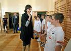 WF z klasą. Minister Joanna Mucha spotkała się z nauczycielami