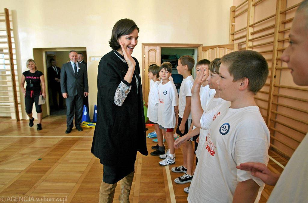 Minister sportu odwiedziła SP nr 62 w Bydgoszczy
