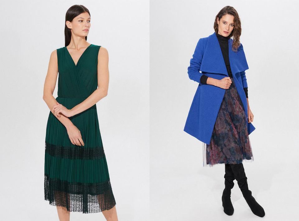 W jakim kolorze dodatki do zielonej sukienki?