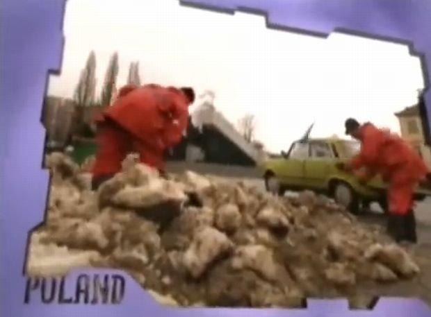 Film zapowiadający Kasię Kowalską na Eurowizji w 1996