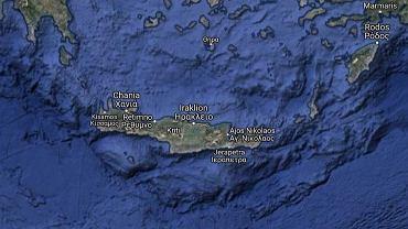 Trzęsienie ziemi w rejonie Krety