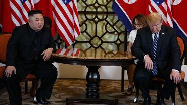 Szczyt Trump-Kim w Hanoi skończył się bez porozumienia