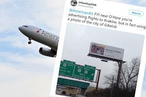 American Airlines pomyliły Kraków i Gdańsk. Promują loty do Polski błędnym zdjęciem