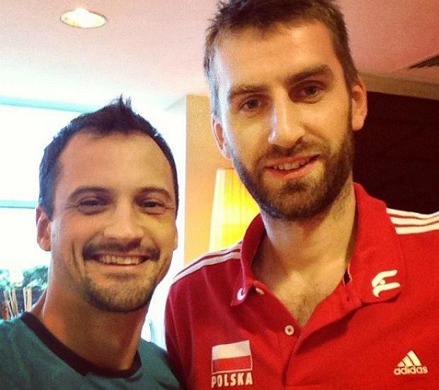 Felipe Fonteles i Marcin Możdżonek