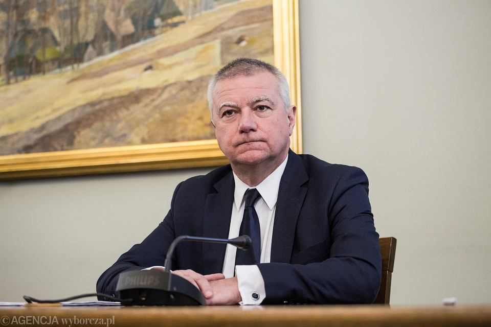 Przesłuchanie byłego sekretarza stanu w KPRM Pawła Grasia przez Komisję ds. VAT-u, 21 marca 2019.