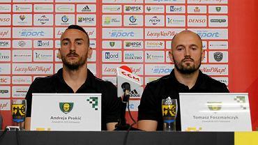 Andreja Prokić i Tomasz Foszmańczyk