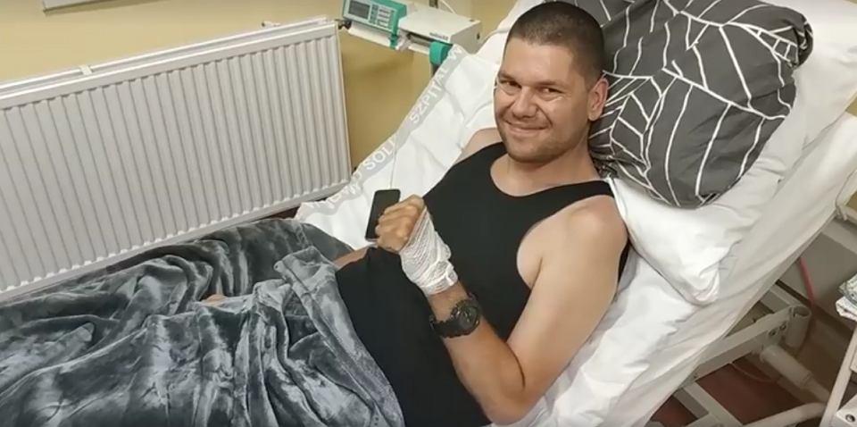 Łukasz Karaś walczy z chorobą SLA - stwardnieniem zanikowym bocznym