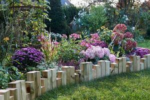 Palisada ogrodowa: zrób to sam