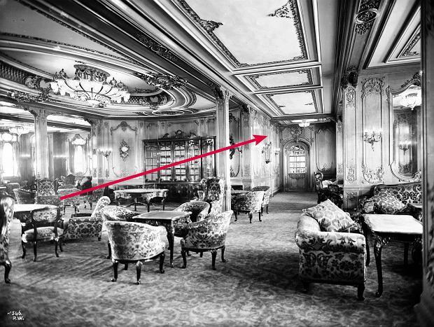 Wnętrze Titanica