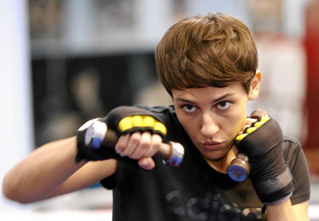Ewa Piątkowska - jedna z pięciu zawodowych bokserek w Polsce
