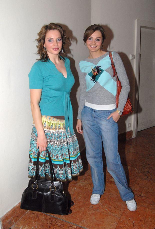 Anna Dereszowska i Małgorzata Socha