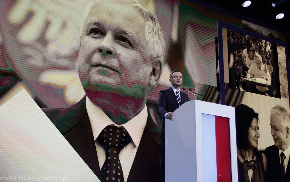 Konwencja wyborcza Andrzeja Dudy - kandydata PiS na prezydenta RP
