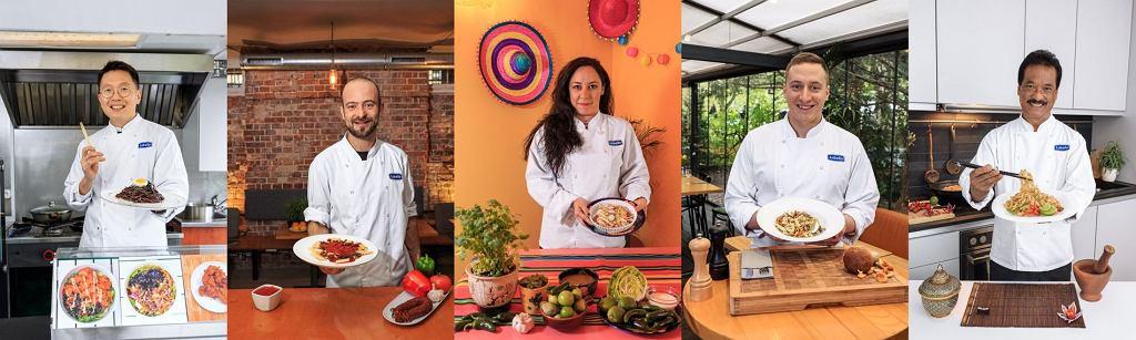 Kucharze z różnych stron świata i ich przepisy na dania z makaronem