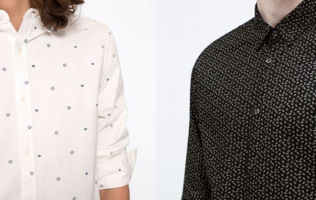 Męskie koszule w drobne wzory to będzie HIT sezonu