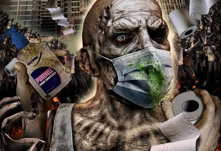 Corona Zombies - oficjalny plakat filmu
